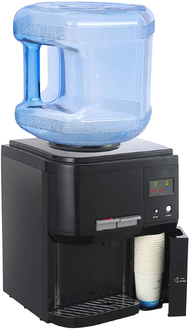 Amay Countertop Water Cooler Dispenser – Best Removable Bottle Holder