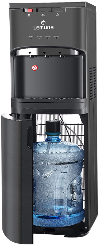 Lemuna Water Dispenser Bottom Loading Dispenser – Ideal For 3 To 5 Gallons Of Water