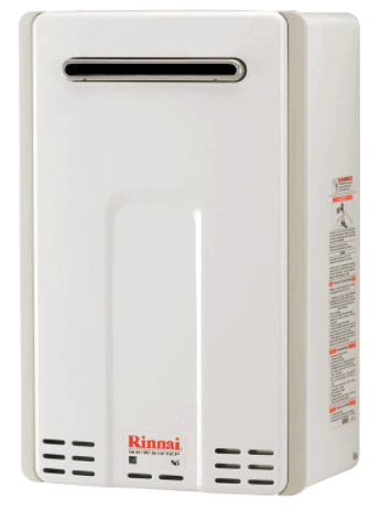 Rinnai Outdoor Tankless Hot Water Heater