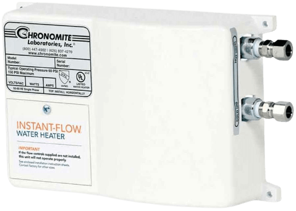 Chronomite Instant-Flow Tankless Water Heater