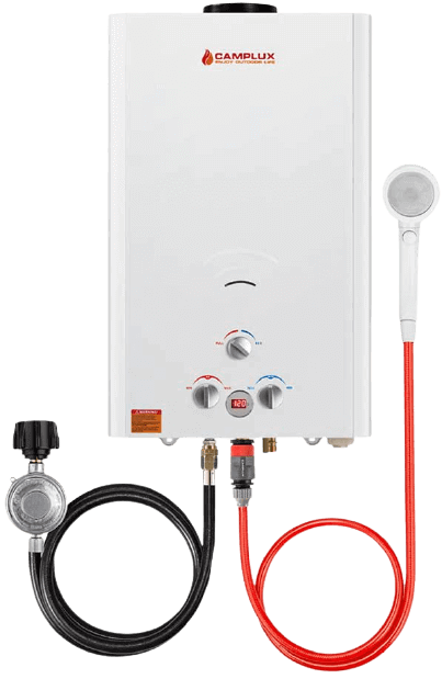 Camplux Outdoor Portable Propane Gas Tankless Water Heater